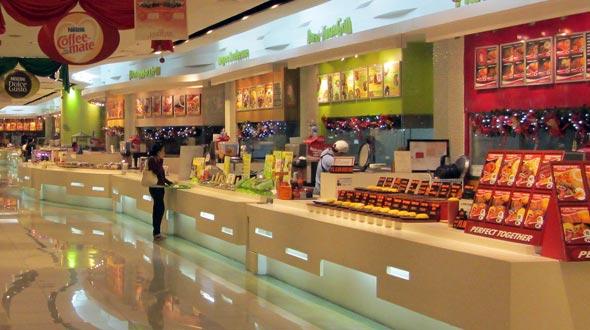 Food court Manila