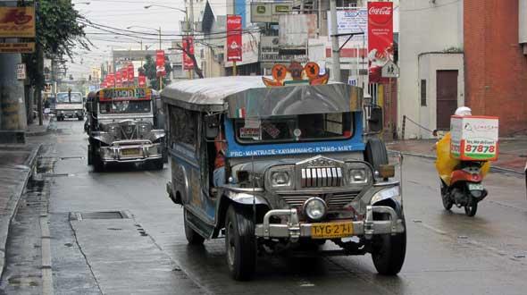 Jeepneys Manila