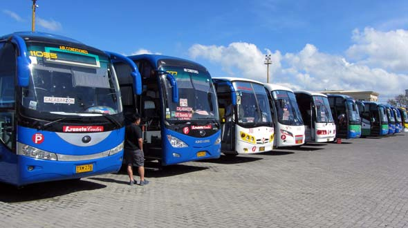 Bus station Batangas