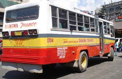 sagada bus
