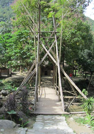 Wooden Bridge Talipanan